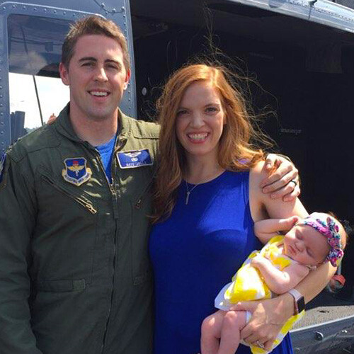 Nathan saved as a newborn baby…and now he's a military pilot